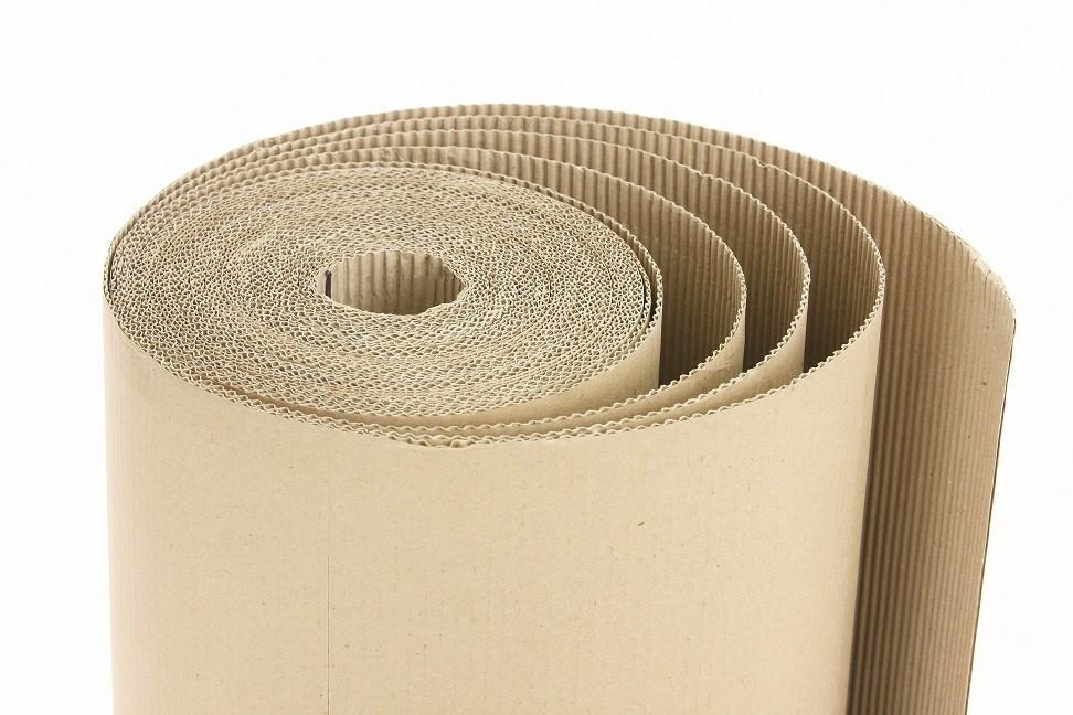 Corrugated cardboard (roll)...