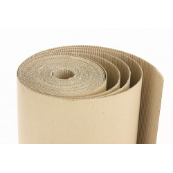 Corrugated cardboard (roll)...